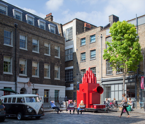Call for New Installations: RIBA's Summer Showcase 'Constructing Communities'