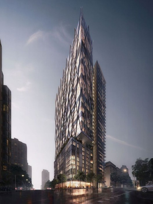 GBL Architects' 8X Tower Approved to be Built in Vancouver, Courtesy of Beauty & The Bit