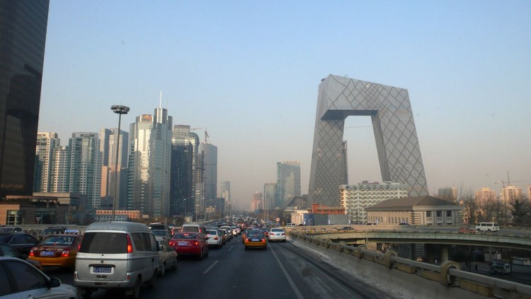 CCTV New Headquarters (p.088) as iconic urban landmark. Image © Evan Chakroff
