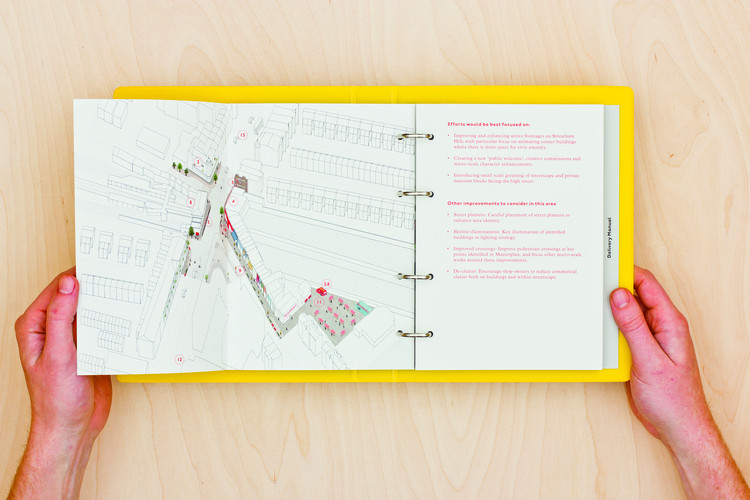 Chapter 2 Interview with We Made That: The Streatham Street Manual set out a range of tangible projects that addressed the possibilities for Streatham High Road in London, 2014. Image © RIBA Publications