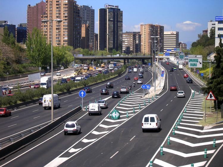 M30, Madrid. Image © Oscar García, vía Flickr
