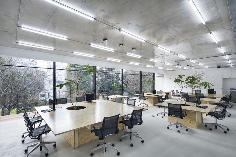 Nakagawa Masashichi Shoten Omotesando Shop & Office  / Schemata Architects, © Kenta Hasegawa