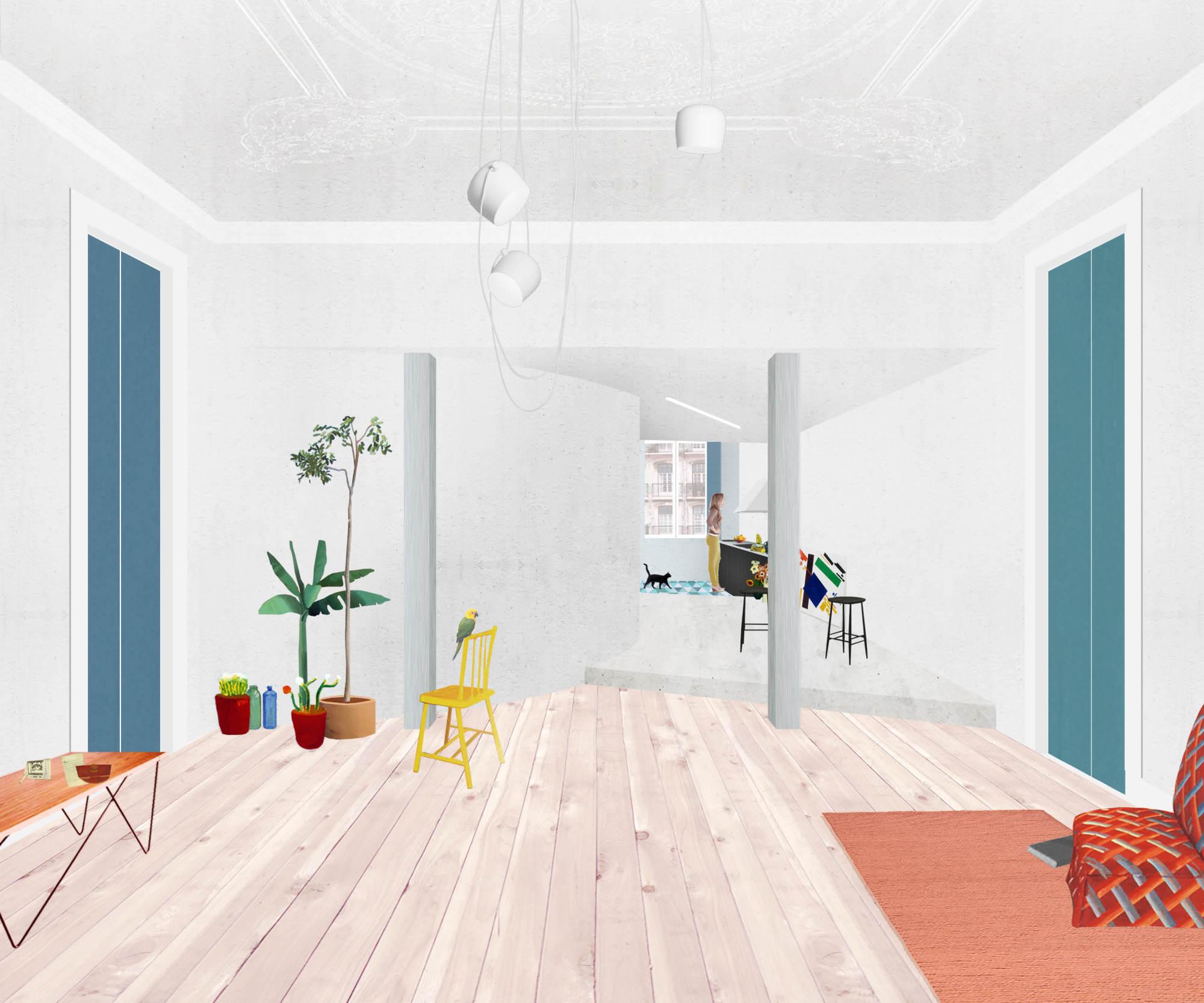 Gallery Of Chiado Apartment Fala Atelier 36