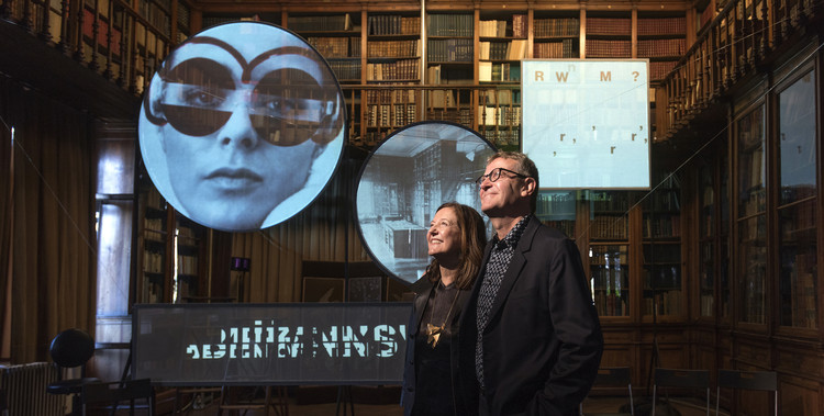 Beatriz Colomina and Mark Wigley – Curators of the 3rd Istanbul Design Biennial (2016). Image © Muhsin Akgun