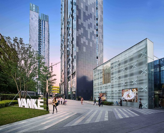 Vanke Plaza Fuzhou - Living High in the Park / John Curran Architects