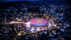 Nikken Sekkei to Design New Camp Nou