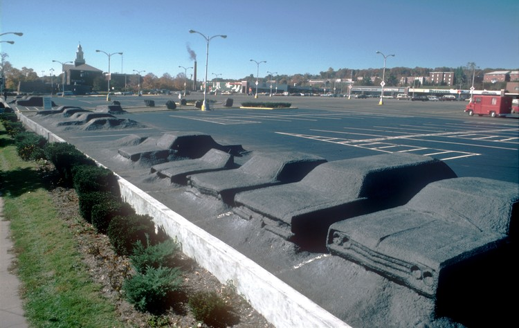 Ghost Parking Lot (1977). Image © SITE