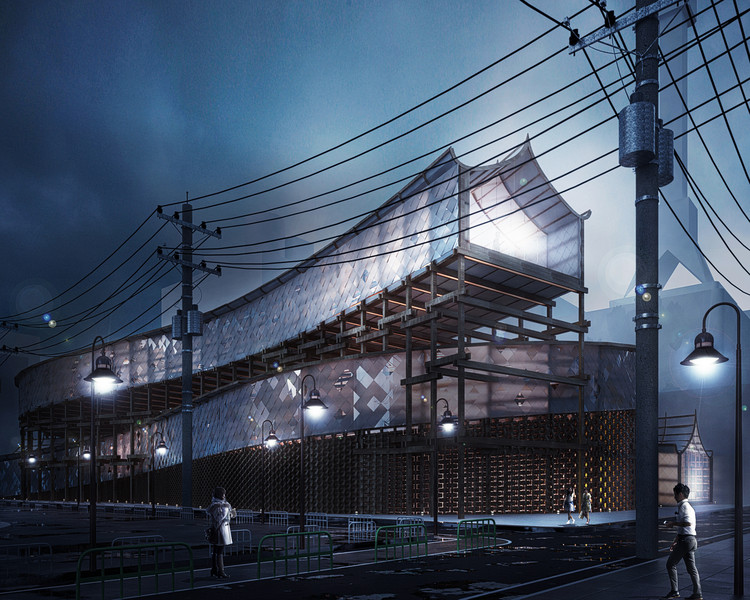 SO/AP Architectes Reveals Tokyo Pop Lab Proposal , Courtesy of SO/AP Architectes