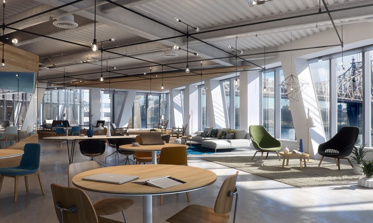 The Bridge, Coworking Space. Image Courtesy of Steelblue and Forest City Ratner Companies
