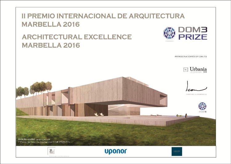 Open Call: II International Architecture Award DOM3 Prize 2016, Poster #DOM3PRIZE 2016