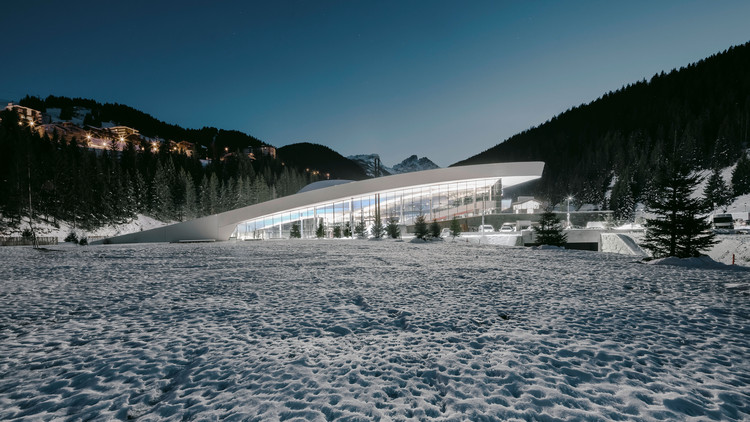 "Aquatic Centre ""Aquamotion"" Courchevel / Auer Weber, © Aldo Amoretti"