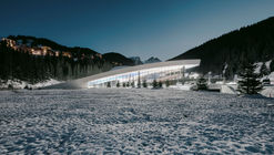 "Aquatic Centre ""Aquamotion"" Courchevel / Auer Weber"