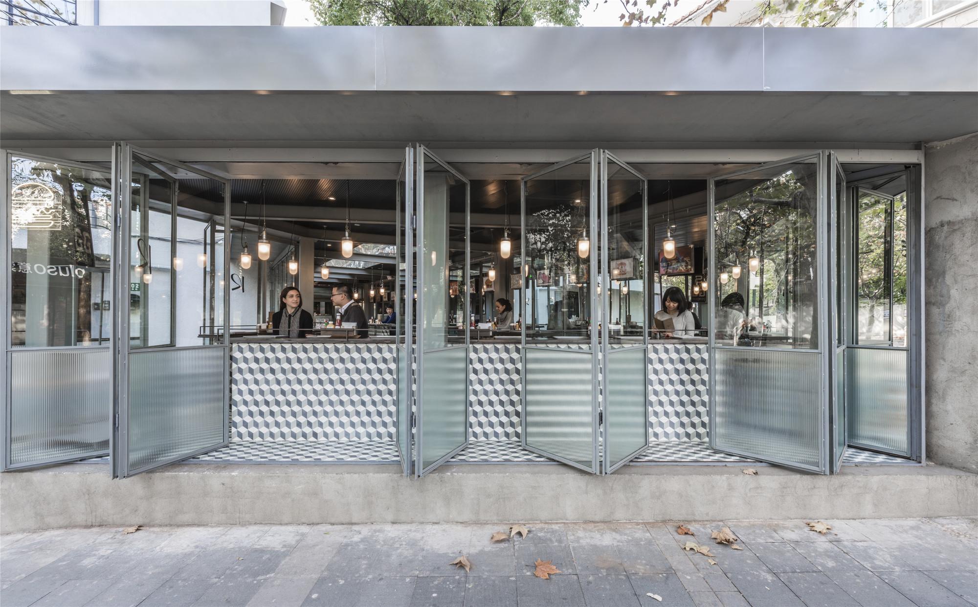 Gallery of rachel s burger neri hu design and research - Racholas exterior ...