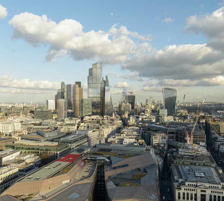 Survey Results Show More Tall Buildings Planned for London, © Visualhouse and photographer Dan Lowe