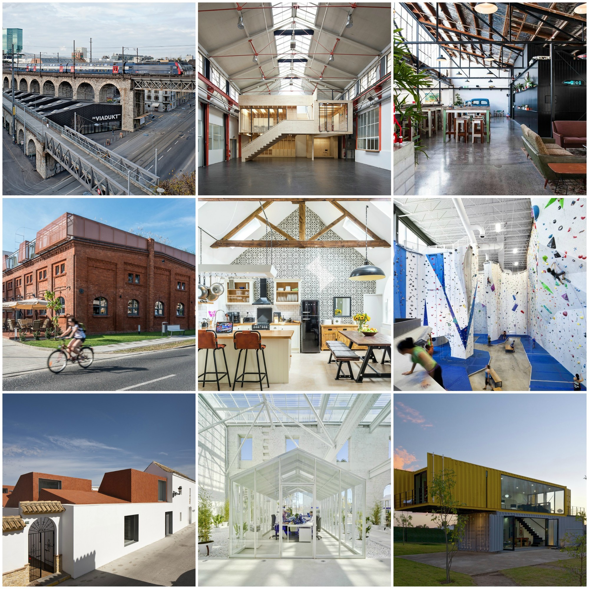 20 creative adaptive reuse projects archdaily for Find architecture