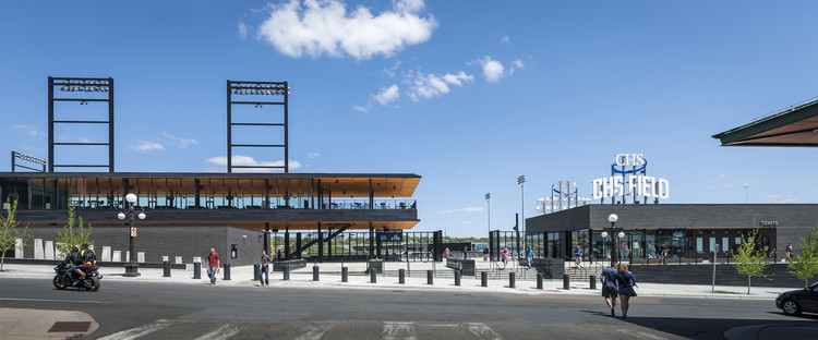 CHS FIELD  / Snow Kreilich Architects, © Paul Crosby