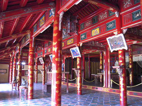 SAH Field Seminar: Vietnam & Cambodia, Tomb of Minh Mang in Hue, Vietnam