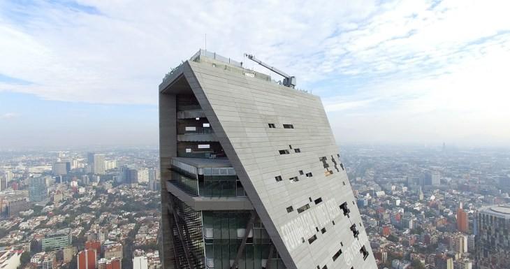 Video: Dron filma los 10 edificios en construcción más altos de la Ciudad de México, vía arquitour.com