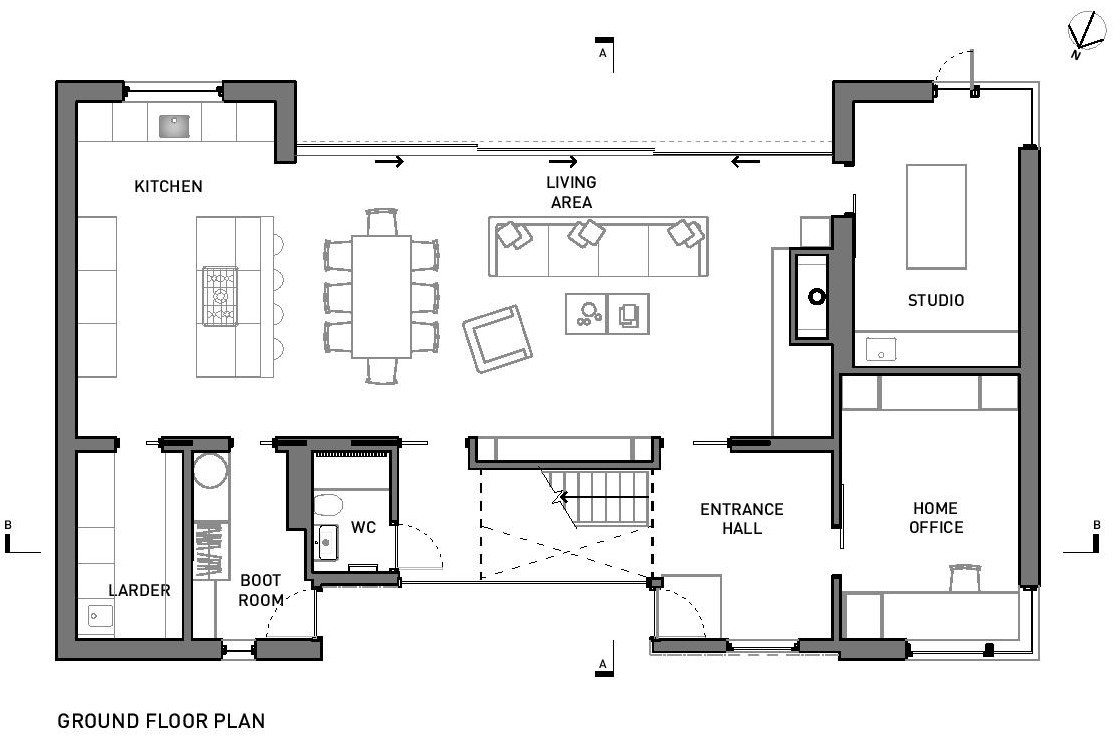 Gallery of broad street house in suffolk nash baker Easy room planner