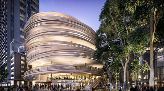 Kengo Kuma's First Building in Australia Revealed