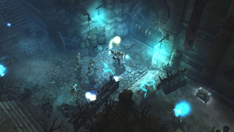 Westmarch, escenario urbano en Diablo 3: Reaper of Souls. © Blizzard Entertainment - 2013. Image