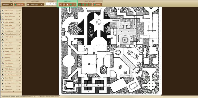 'davesmapper.com' es herramienta que genera mapas aleatorios para juegos de rol. Image