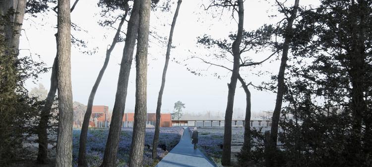 a2o architecten gana concurso para diseñar crematorio en Bélgica, Cortesía de a2o architecten