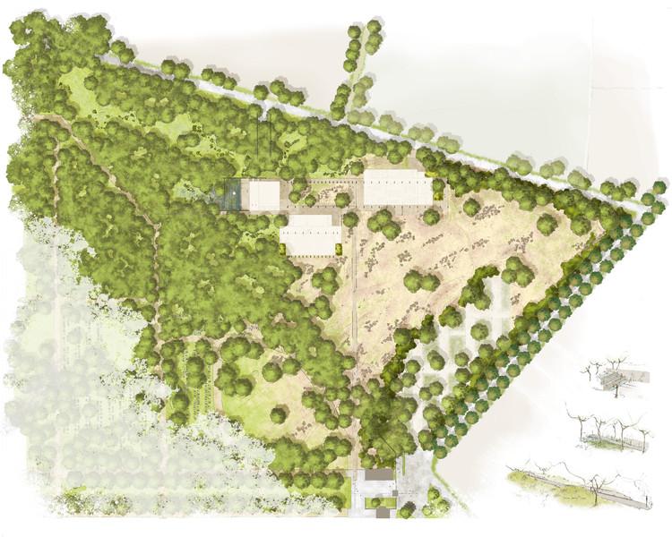 Landscape. Imagen cortesía de a2o architecten
