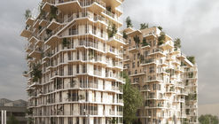 Sou Fujimoto and Laisné Roussel Propose Wooden Mixed-Use Tower for Bordeaux