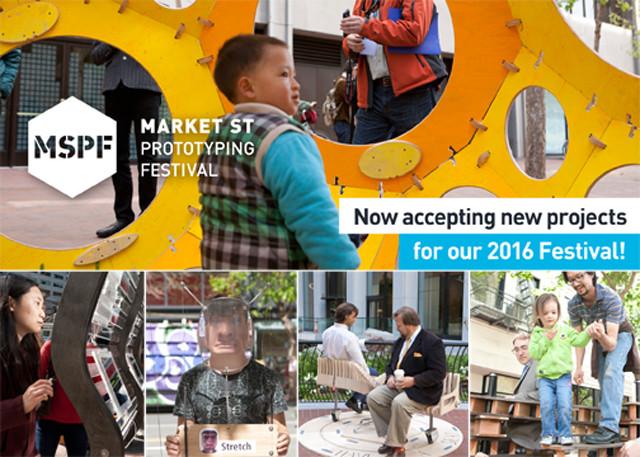 Open Call: 2016 Market Street Prototyping Festival