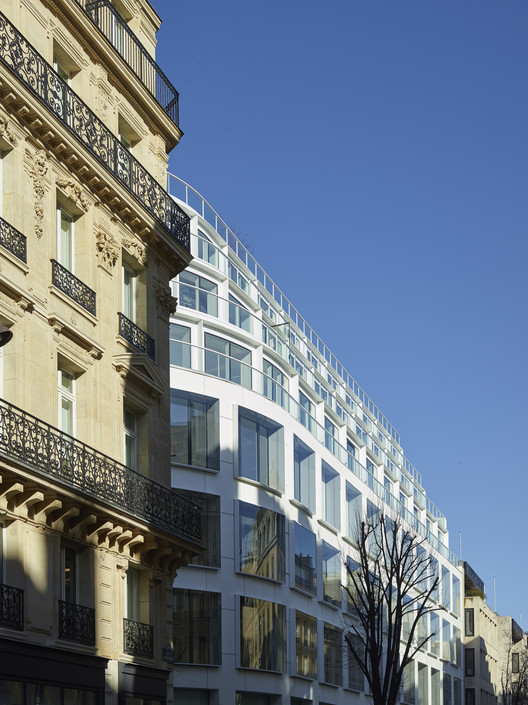 Cloud paris philippe chiambaretta architecte archdaily for Philippe jean architecte