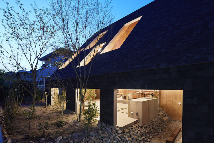 Casa en Anjo / Suppose Design Office, © Toshiyuki Yano