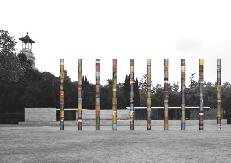 Luis Martínez Santa-María, ganador del concurso 'Columnas Cristalizadas' de la Fundació Mies van der Rohe, Cortesía de Fundació Mies van der Rohe
