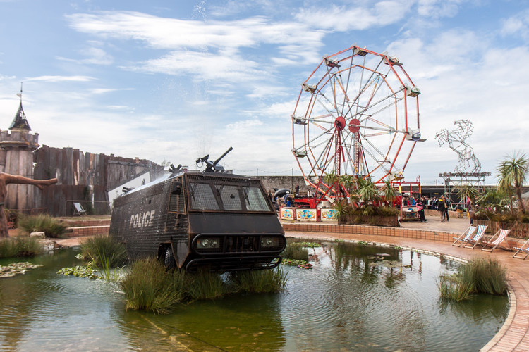 Banksy's Dismaland. Image © Flickr user oemebamo licensed under CC BY-NC 2.0