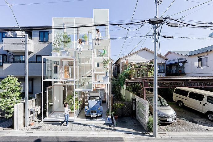 7 maneras creativas de incluir al automóvil en tu proyecto residencial,  © Iwan Baan