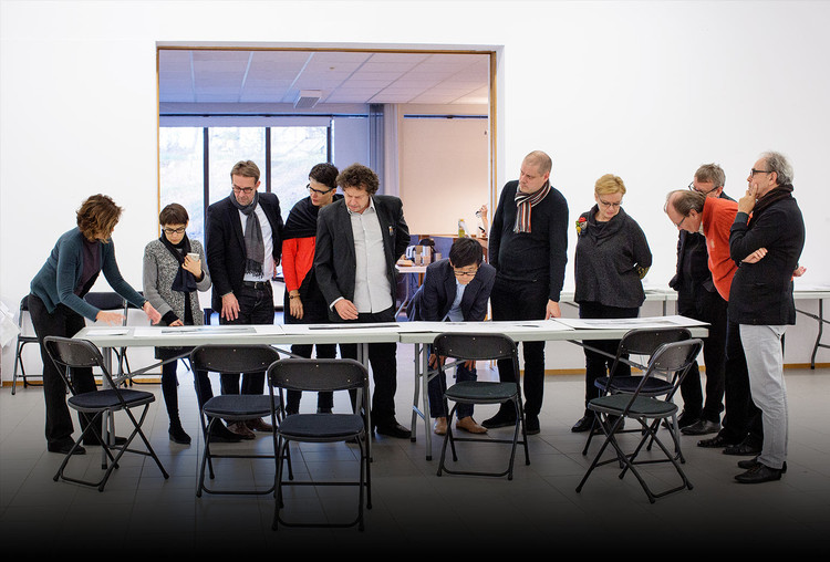 Monocle 24 Talk to MVRDV and Malcolm Reading About the Architectural Competition, Guggenheim Helsinki competition jury. Image Courtesy of Monocle