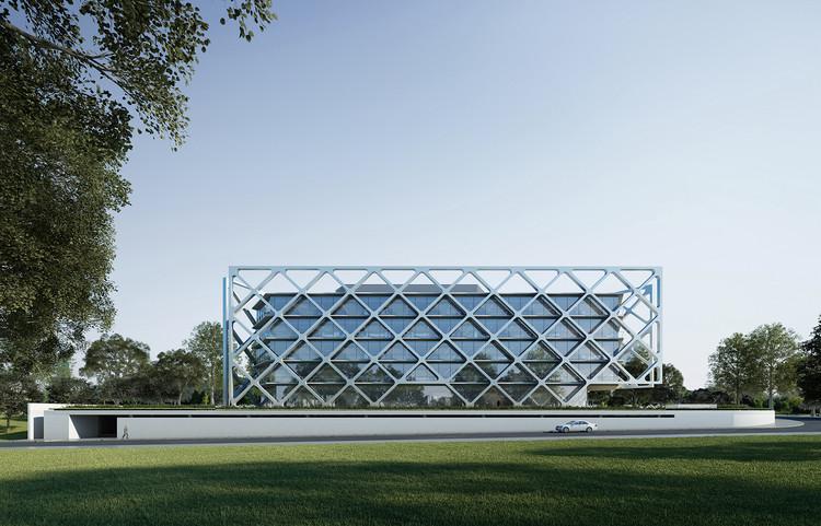 Rafael de La-Hoz diseña nuevo edificio de oficinas en Madrid, Cortesía de Rafael de La-Hoz Arquitectos