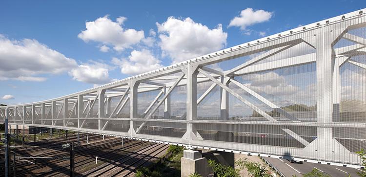 Puente peatonal Hausbergen / Wienstroer Architekten Stadtplaner, © Thomas Mayer