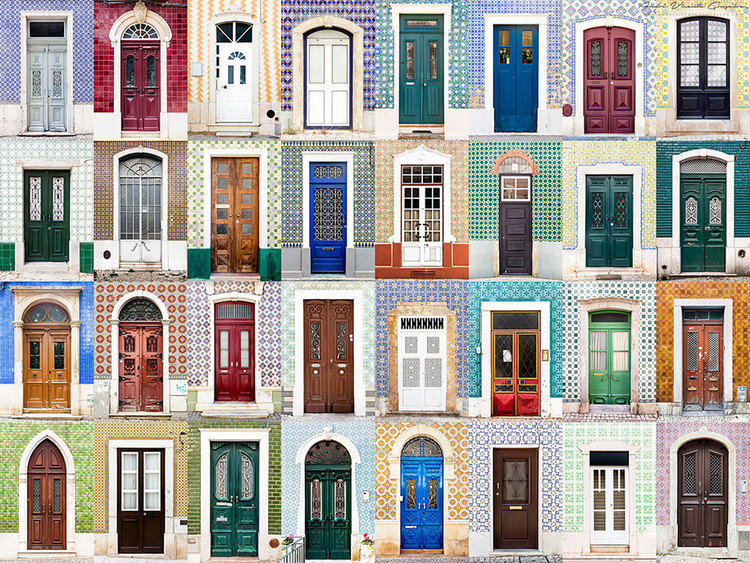 Doors of Portugal. Image © Andre Vicente Goncalves
