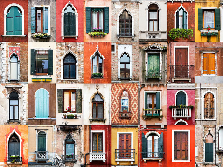 Windows of Venice. Image © Andre Vicente Goncalves