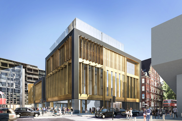 Orms Granted Planning Permission for Music Venue as Part of Tin Pan Alley Revival, Exterior Rendered View. Image Courtesy of Orms