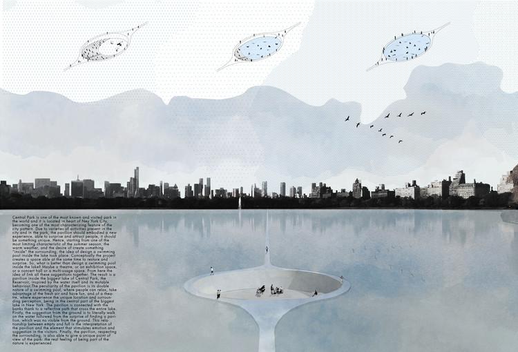 Anuncian las propuestas ganadoras del CPSP New York, Primer Lugar. Image Cortesía de Arquideas