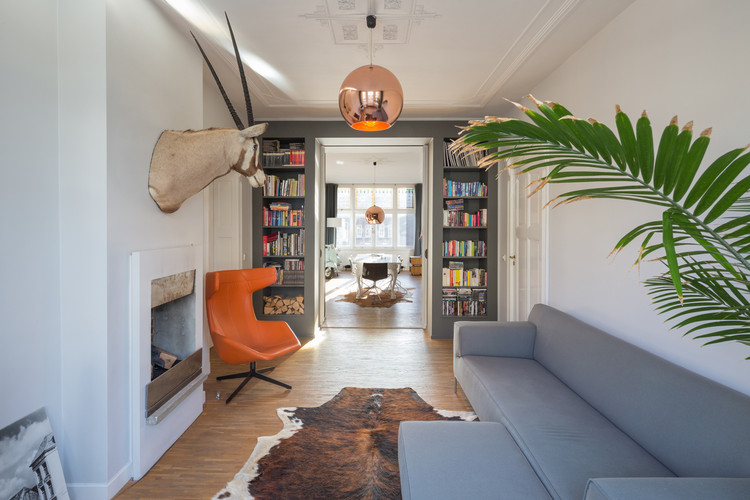 Penthouse rotterdam personal architecture archdaily for Archi interieur rotterdam