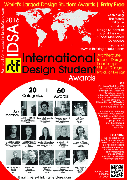 International Student Awards 2016, International Design Student Awards 2016