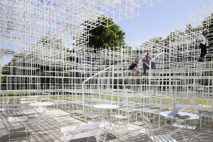 2013 Serpentine Pavilion by Sou Fujimoto. Image © Danica Kus