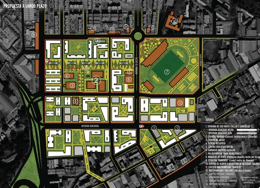 Curundú: Modelo de ciudad sostenible. Image Cortesía de Universidad Nacional del Centro del Perú
