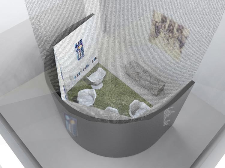 Fab Lab representará a Chile en la primera Bienal de Diseño de Londres, Primer borrador. Image Cortesía de Fab Lab y CNCA
