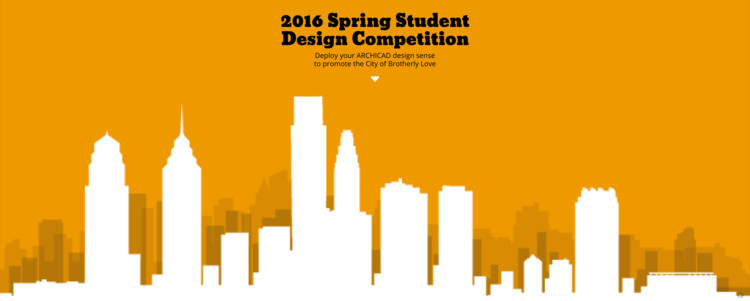 Open Call: GRAPHISOFT 2016 Spring Student Design Competition