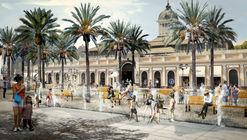 SHIFT arquitectos & Asociados, segundo lugar en concurso de la nueva Explanada de los Mercados en Santiago