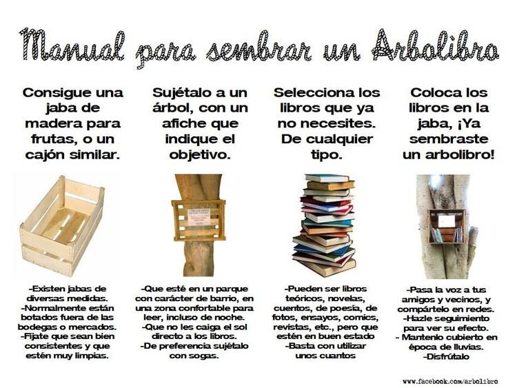 Manual para sembrar un arbolibro. Image © Gonzalo Díaz